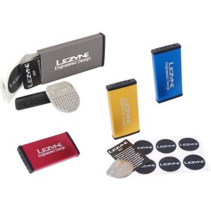 Lezyne Metal Kit kit de reparation crevaison 6 pièces Argent 2013 Accessoires vélos Outil & montage Rustine et réparation