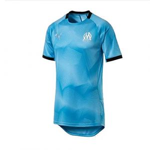 Puma T-shirt Maillot Om Graphic Jersey 2018-19 bleu - Taille EU S,EU M,EU L,EU XL