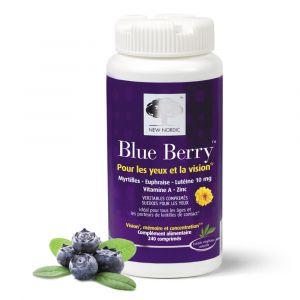 New Nordic Blueberry 240 comprimés