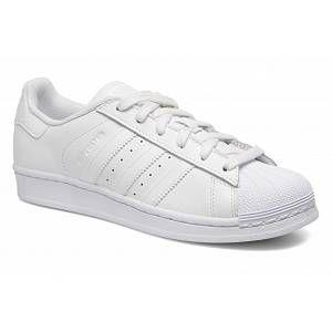Adidas Originals Superstar Foundation, Baskets Basses Mixte Adulte, Blanc (Footwear White), 38 2/3 EU