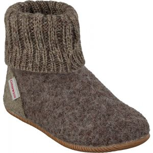 Giesswein Wildpoldsried, Chaussons Montants Mixte Enfant, Gris (Taupe 262), 33 EU