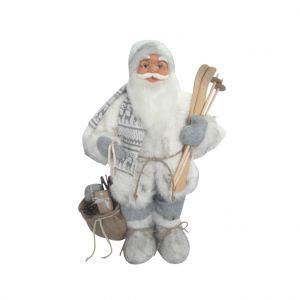 Père Noël porte ses skis 60 cm