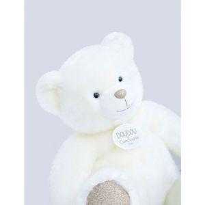 Doudou et Compagnie Ours collection 40 cm blanc