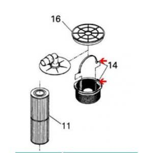 Gre 2520551 - Panier de skimmer filtrant pour spa