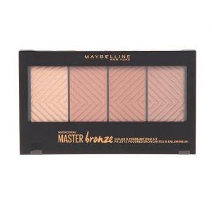 Maybelline Masterbronze Color Highlighting - Palette poudres bronzantes et enlumineur kit 20