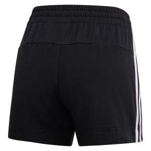 Adidas Short Essentials 3 bandes Noir / Blanc - Taille M