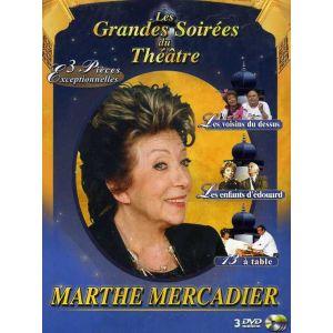 Coffret Marthe Mercadier - Les voisins du dessus + Les enfants d'Edouard + 13 à table