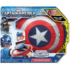 Hasbro Bouclier lance fléchettes Captain America Nerf