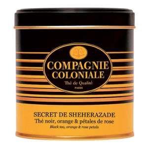 Compagnie Coloniale Thé noir Secret de Shéhérazade - 140 gr