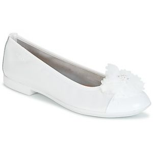 Geox Jr Plie' B, Ballerines Fille, Blanc (White), 30 EU