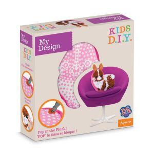 Orb factory My Design Coussin à décorer Lapin Kids D.I.Y