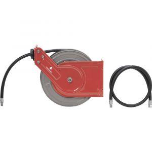Toolcraft Enrouleur de tuyau pneumatique 40 bar 10 m