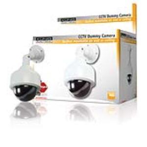 König SEC-DUMMYCAM25 - Caméra de surveillance factice dôme