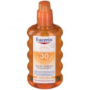 Eucerin Sun spray corps transparent SPF30