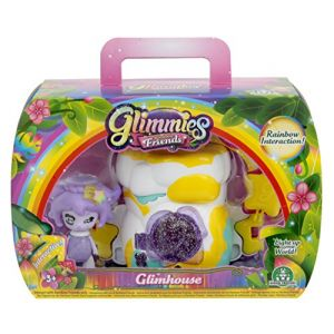 Giochi Preziosi Glimmies GLN043 - Coffret GlimHouse Rainbow Friends Exclusive Maison Rocher
