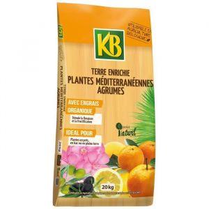 KB Terre enrichie agrumes et plantes méditerranéennes - 20 kg