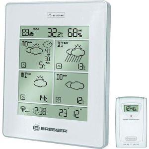 Bresser 4Cast LX - Station météo sans fil température intérieure et extérieure avec prévision J+3