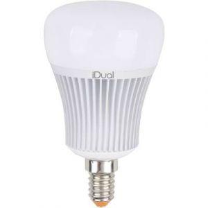 JEDI LIGHTING Ampoule LED à changement de couleurs, 7W = 470Lm E14 Idual JEDI