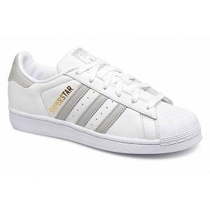 Adidas Originals Superstar W - Baskets Femme, Blanc