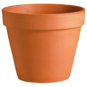 Deroma Vase brut rouge en terre cuite Ø 53 cm