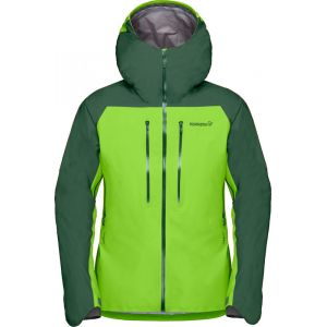 Norrona Lyngen Gore-Tex Jacket M Jungle Green Veste ski / alpi / protection Homme