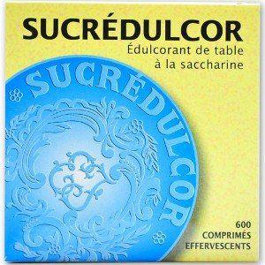 Pierre Fabre Sucredulcor Effeverscent 600 comprimés