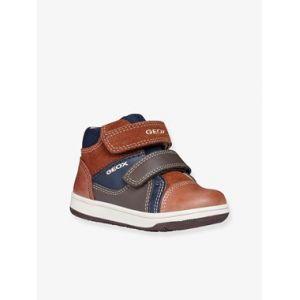 Geox B New Flick B, Sneakers Basses bébé garçon, Marron (Brandy/Navy C6af4), 20 EU