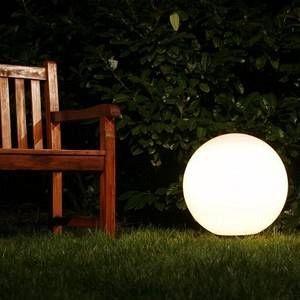 Hofstein Boule lumineuse Miau Blanc, 1 lumière Moderne Extérieur Miau