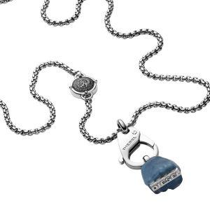 Diesel Collier et Pendentif Bijoux PILLAR DX1178040 - Collier et Pendentif Acier Argent HOMME