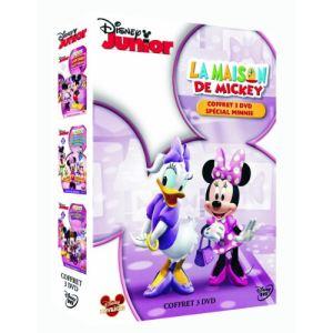 Coffret La Maison de Mickey - Volume 2 : Joyeuse Saint-Valentin + Le défilé de Minnie + Minnie mène l'enquête
