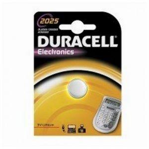 Duracell 033979 - Pile Bouton Lithium CR2025 3V 165mAh - 1 Pièce