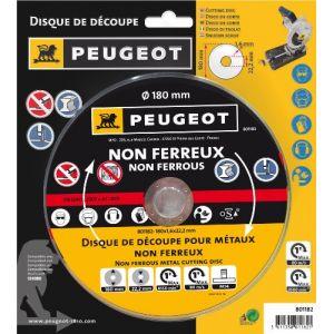 Peugeot Disque180mm métal non-ferreux pour mini-tronçonneuse