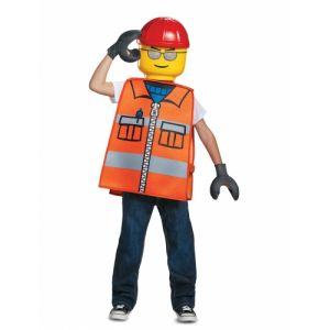 Déguisement ouvrier de chantier L enfant TU