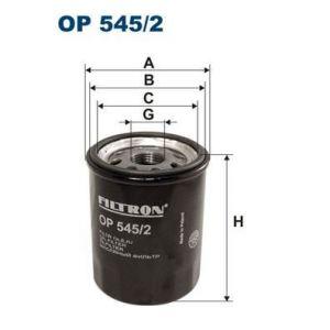 Filtron Oil Filtre FORD,FIAT,HYUNDAI OP545/2 X634,46544820,46751179 Filtre À Huile 55230822,55256470,71736161,71765459