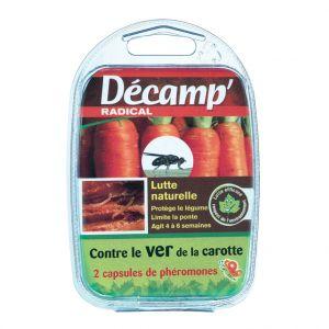 Decamp Phéromone traitement biologique contre le ver de la carotte x2