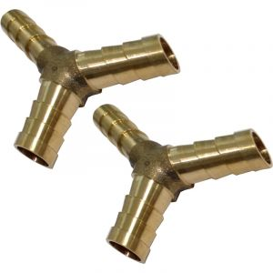 Aerzetix 2x raccords triples en Y d'air comprimé compresseur ?8mm coupleur dédoubleur multiprise C18588