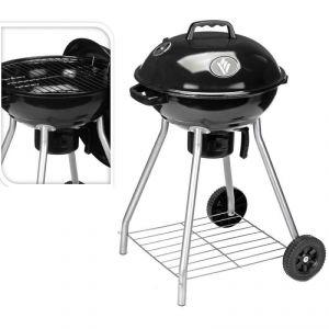 7845 - Barbecue à charbon avec couvercle 46cm