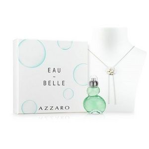 Azzaro Eau Belle - Coffret eau de toilette et collier Camélia