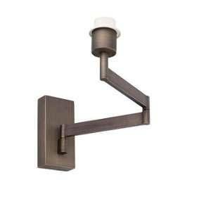 Faro Applique Interieur articulé Bronze Artis 1xE27 15W Max - 68494
