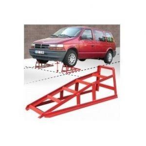 Outifrance 1660552 - Rampe de levage pour voiture, charge maxi 1500 kg