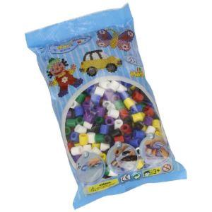 Hama Sachet de 500 perles à repasser Maxi multicolores