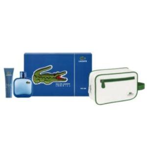 Lacoste L.12.12 Bleu - Coffret eau de toilette, gel douche et trousse de toilette