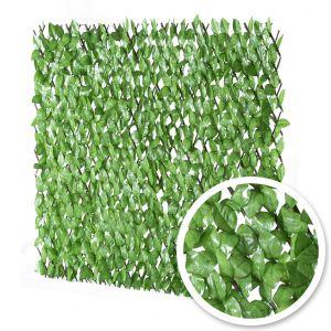 France Green Treillis Extensible Feuilles de Rosier 1m x 2m