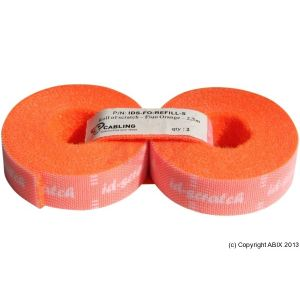 Id Scratch Bande auto aggripante coul. orange 2,5m (lot de 2)