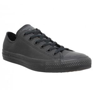 Converse All Star Ox Leather, Chaussure de Sport Mixte Adulte, Noir (Black), 40 EU