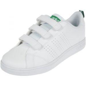 Adidas Vs ADV Cl CMF C, Baskets Mode Mixte Enfant, Blanc (Ftwbla/Verde 000), 35 EU