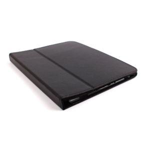 """Duragadget Etui aspect cuir avec port de maintien arrière pour tablette Archos 80 Titanium 8"""""""