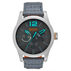 Hugo Boss 1513379 - Montre pour homme avec bracelet en tissu