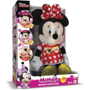 IMC Toys Peluche interactive Minnie Emotions