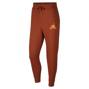 Nike Pantalon en tissu Fleece Jordan Jumpman Classics pour Homme - Marron - Taille L - Male